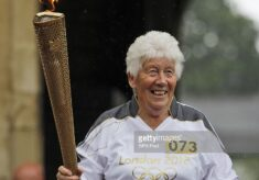 Gina MacGregor and the Olympic Torch