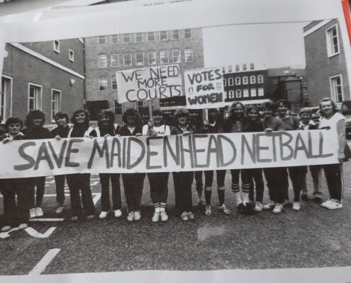 Gina MacGregor and her Netball story