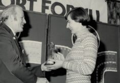 1976 Anne Miles and Service to Sports Award