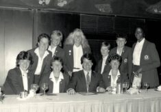 1987 Royal Variety Club Luncheon with Colin Moynihan Minister for Sport