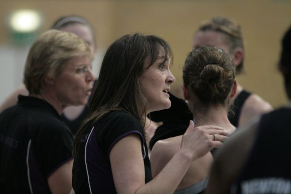 Mavericks assistant coach Fiona Murtagh and coach Maggie Jackson | Mark Pritchard Photography