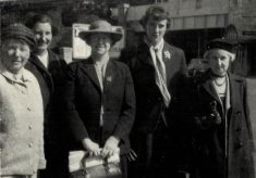 1957 Delegates to International Netball Conference