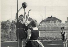 1962 Netball in Jersey v Iraq Petroleum