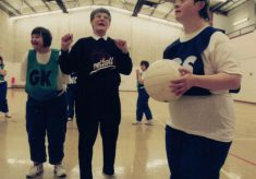 1996 Special Needs Netball Workshop, Southfields Drive Sports Hall, November 28th