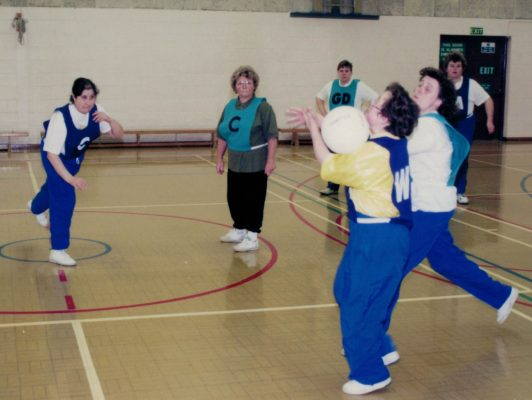 1998 Learning Difficulties Disability Netball Workshop
