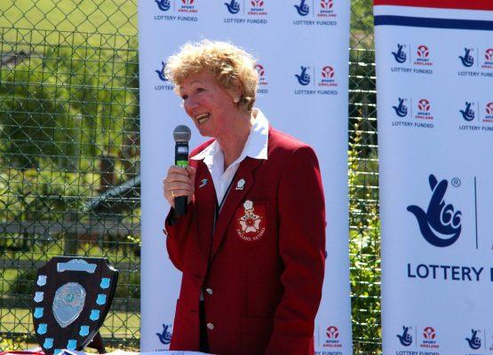 Barbara Bishop, President making the closing speech | Mark Pritchard Photography