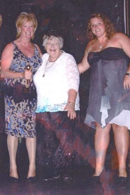 From left to right :-   Carole Titmuss - Head Coach, Maureen Ball - President,  Charlotte Rose - Junior Coach